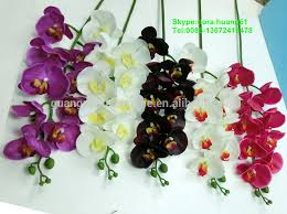 black orchid flower sjh121602 artificial flowers black orchid fresh flowers silk