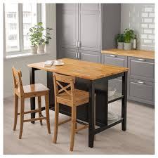 ikea stenstorp kitchen island stenstorp kitchen island black brown oak 126x79 cm ikea