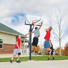 black friday basketball hoop mammoth 54 in glass basketball hoop