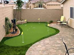 Images Of Backyards Putting Greens In Las Vegas Nv Synthetic Putting Greens