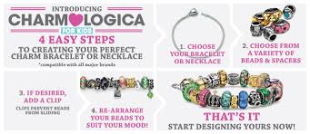silver beaded charm bracelet images Kids hand blown glass bead charms from gemologica a fine online png