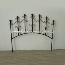 garden ornaments cheap metal lawn edging fencing small wrought