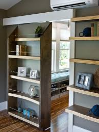 Storage Bookcase With Doors Decorations Modern Bookcase Door With Wood Shelves Also