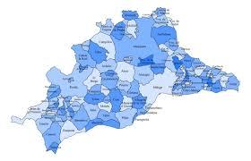 Map Of Malaga Spain province of malaga map malaga maps