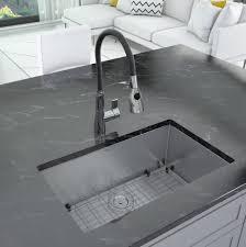 what size undermount sink fits in 30 inch cabinet prestige series 30 l x 18 w undermount kitchen sink with faucet