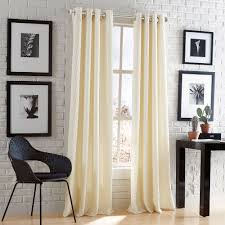 Glass Curtain Rod Peri Home Mercury Glass 66 In 120 In Steel Telescoping 3 4 In