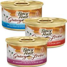 purina fancy feast gravy chicken hearts liver feast in