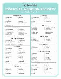 registering for wedding gifts checklist 25 best ideas about wedding registry checklist on