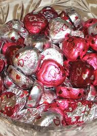 dove chocolate hearts a s day sweet treat