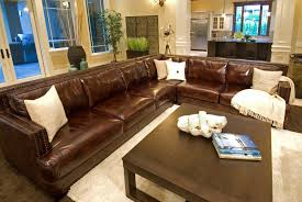 Top Grain Leather Sectional Sofas Elements Home Furnishings Easton Top Grain Leather Sectional