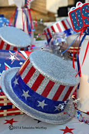 Fourth Of July Table Decoration Ideas Patriotic Table Decor Ideas Memorial Day And 4th Of July