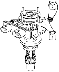 repair guides electronic distributor ignition systems pickup