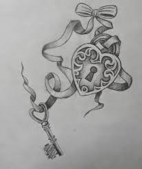 heart locket and key tattoo key tattoos designs ideas and meaning