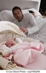 chambre coucher b b lit c nouveau né parents pleurer chambre à coucher