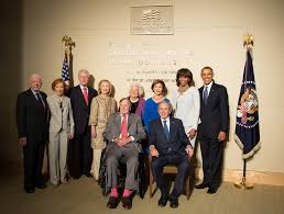 all five living presidents of the united states on april 2 u2026 flickr