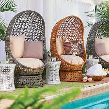 Outdoor Wicker Swivel Chair Bativa Resin Wicker Swivel Chairs Improvements Catalog
