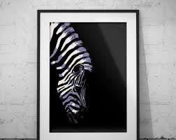 zebra drawing etsy
