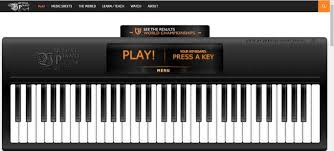 piano key notes 5 virtual piano keyboards you can play online