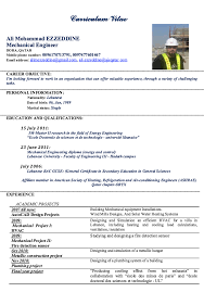 Sample Mechanical Engineer Resume by Mechanical Engineer Resume Sample Electrical Engineer Resume