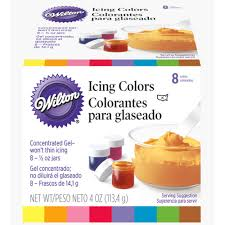 food coloring wilton