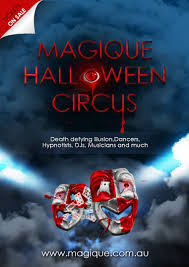 angels and demons halloween party sydney halloween party magique halloween circus 2014