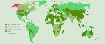 Medical Marijuana Legal States Map by Progress Of Global Marijuana Legalization Cgtn America