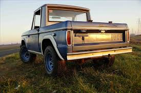 Fords New Bronco Bronco Prototype Car Pictures
