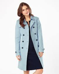 light blue trench coat tabatha trench coat baby blue phase eight