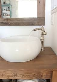 Bathroom Vessel Sink Faucets by Trough Style Sink Faucets And A Rain Shower Head And Valve You