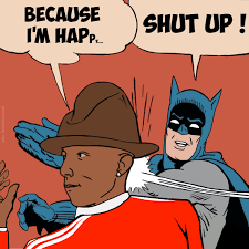 Batman Robin Meme - pharrell williams my parents are dead batman slapping robin