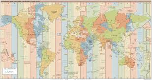 Pacific Time Zone Map Gui Design How To Make Selecting A Timezone More User Friendly