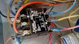 24 volt vs 240 v coil contactor wiring diagram air conditioner