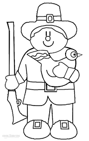 printable pilgrims coloring pages for kids cool2bkids