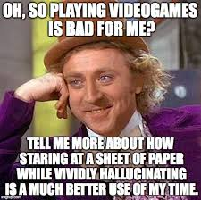 Books Meme - books vs games imgflip