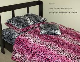 faux fur bottom fitted sheet animal print