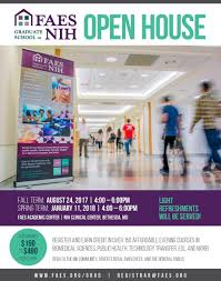 Nih Campus Map Graduate Open House Fall 2017