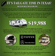 tailgate time vogt rv centers fort worth texas