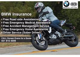bmw insured emergency service bmw donford motorrad donfordcapetown