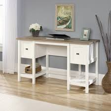 sauder cottage road desk soft white walmart com