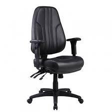 modern leather desk chair life interiors lux high back leather office chair black