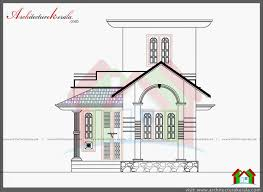 750 sq ft house plan and elevation architecture kerala