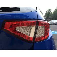 subaru wrx hatch white wrx sti hatchback led tail lights valenti jewel led tail lamps