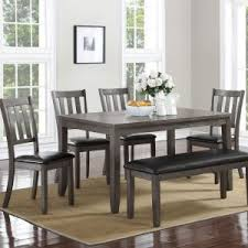 6 piece dining table and chairs dining room tables archives mattress king of las vegas
