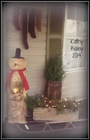 Primitive Christmas Window Decorations by 1010 Best Christmas Primitive Colonial U0026 Country Exterior