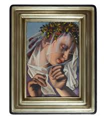 Tamara De Lempicka Art by Paddle8 La Couronne De Fleurs Tamara De Lempicka
