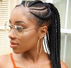 picture of corn rolls 15 lovely ghana braids styles updos cornrows jumbo ponytail