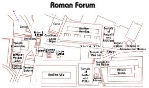 basilica floor plan 20 facts about the roman forum round the world magazine