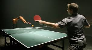 ping pong vs table tennis man vs machine table tennis showdown is actually a kuka shanghai ad