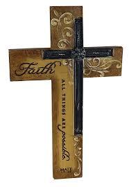 Religious Decorations For Home Shop Amazon Com Wall Crosses