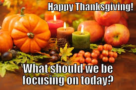 what should christians focus on while celebrating thanksgiving